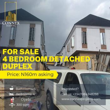 Luxury 4 Bedrooms Detached Duplex, Opebi, Ikeja, Lagos, Detached Duplex for Sale