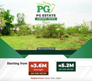 Pg Estate, Abaranje, Ikotun, Lagos, Residential Land for Sale