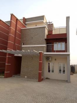 Fully Serviced 4-bedrooms Terraced Duplex with 1 Room Bq, Jahi, Abuja, Terraced Duplex for Rent