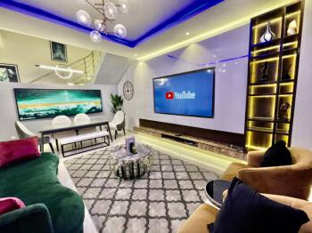 New Furnished 4 Bedroom Terrace Duplex, Chief Bamidele Eletu Way, Osapa, Lekki, Lagos, Terraced Duplex Short Let