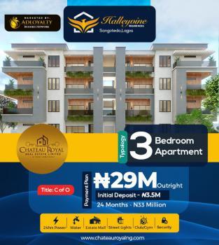 Luxury Built 3 Bedroom Apartment, Off Monastery Road,novare Mall,  Sangotedo - Ajah, Lekki, Lagos, House for Sale
