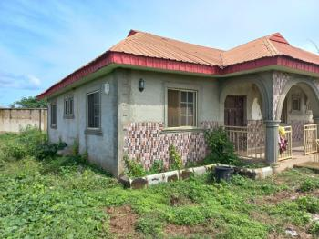 Newly Build 4 Bedroom Bungalow on 2 Plots & Half in a Secure Place, Back of Royal Vally Estate, Sango Area, Ilorin South, Kwara, Detached Bungalow for Sale