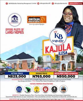 Orisun Estate, Kajola, Ilesa West, Osun, Residential Land for Sale
