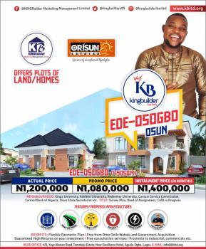 Land, Orisun Estate Ede Road, Osogbo, Osun, Residential Land for Sale
