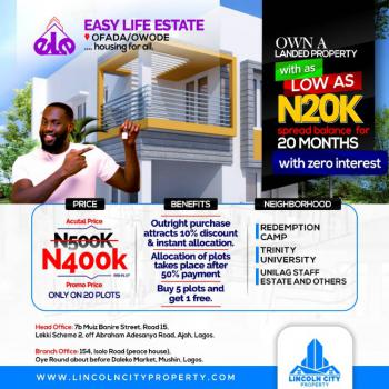 Most Affordable and Flexible Property with Red Copy Survey, Owode, Obafemi Owode, Ogun, Mixed-use Land for Sale
