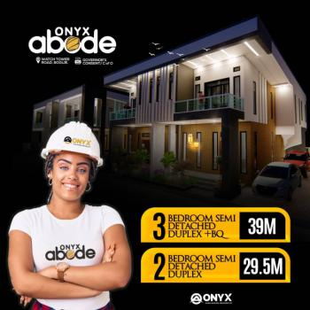 2 Bedroom with Governors Consent, Onyx Abode, Watch Tower Road, Bogije, Ibeju Lekki, Lagos, Semi-detached Duplex for Sale