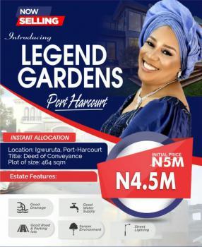 Affordable Plots of Land, Legend Gardens Estate, Igwuruta, Ikwerre, Rivers, Mixed-use Land for Sale