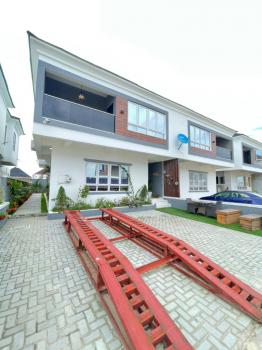 Fully Serviced Alluring 4 Bedroom Semi-detached Duplex with Bq, Vgc, Lekki, Lagos, Detached Duplex for Sale