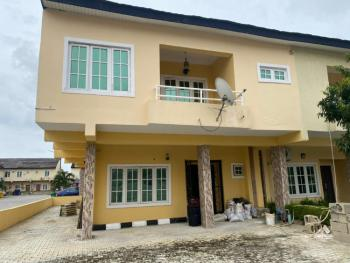 Serviced 4 Bedroom Duplex, Lekki Gardens Phase 3 By Lagos Business School, Ajah, Lagos, Semi-detached Duplex for Rent