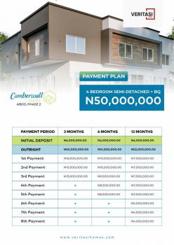 Fully Finished Offplan Luxury and Classic 4 Bedroom Semi Detached, Gra, Abijo, Lekki, Lagos, Semi-detached Duplex for Sale