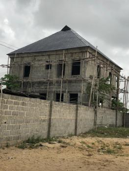 4 Bedroom Fully Detached Duplex (carcass) in Half Plot of Land, Eputu, Ibeju Lekki, Lagos, Detached Duplex for Sale