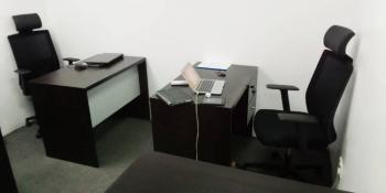 1 Man Workstation (boss Desk), The City Mall, Onikan, Lagos Island, Lagos, Office Space for Rent