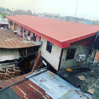 Corner Piece 1500sqm of Land with a Storey Building, Illupeju, Anthony, Maryland, Lagos, Mixed-use Land for Sale