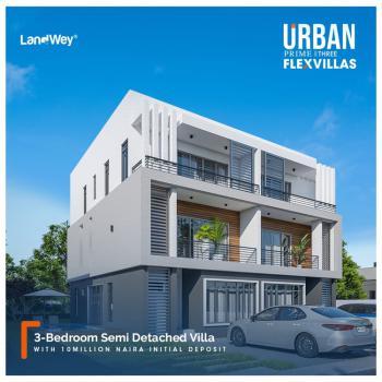 Luxury 3 Bedroom Semidetached Villa, Abraham Adesanya, Ogombo, Ajah, Lagos, Semi-detached Duplex for Sale