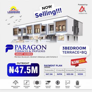 House, Meridian Boulevard Estate, By Abraham Adesanya, Okun-ajah, Ajah, Lagos, Terraced Duplex for Sale