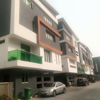 Beautifully Built 4 Bedroom Maisonette House with B/q, Richmond Estate, Ikate, Lekki, Lagos, Terraced Duplex for Sale