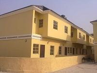 Luxury 1 Bedroom Terrace Duplex at Lbs (pan African University), Hitech Road, Ajah, Lagos, Terraced Duplex for Rent