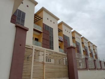 Brand New 4 Bedrooms Terrace with Bq, Jahi, Abuja, Terraced Duplex for Sale