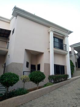 a Newly Built 4 Bedroom Terrace Duplex with 1 Bedroom Guest Chalet, Close to Ecowas, Asokoro District, Abuja, Terraced Duplex for Rent