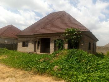 3 Bedroom Bungalow Carcass, After Kabusa Junction, Apo, Abuja, Detached Bungalow for Sale