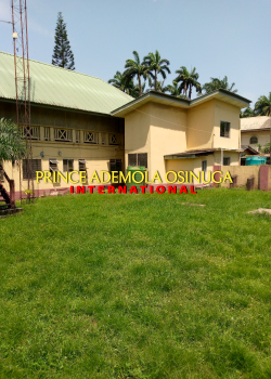 Massive Detached Property +5 Bq on Large Grounds (requires Upgrade), Old Ikoyi, Old Ikoyi, Ikoyi, Lagos, Office Space for Rent