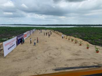 Affordable Secured Land with Accessible Road and a Water Front, Alaro City, Epe, Lagos, Industrial Land for Sale