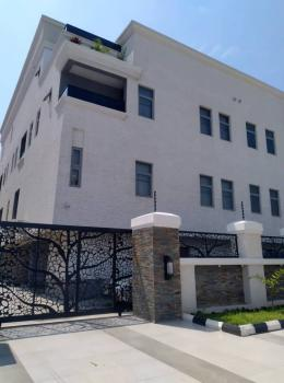 Brand New and Service  4 Bedrooms Terrace Duplex with a Room Bq in Iko, Room Bq for Rent at Osborne Phase2, Osborne, Ikoyi, Lagos, Terraced Duplex for Rent