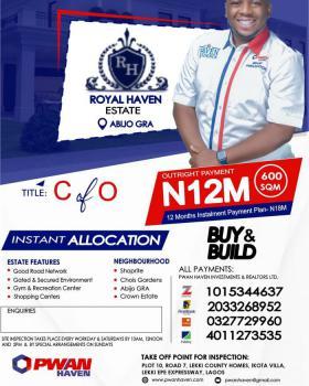 C of of Land, Royal Haven Estate  Gra, Abijo, Lekki, Lagos, Residential Land for Sale