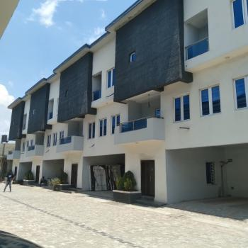 Brand New 4-bedroom Terrace House with Bq, Lekki Scheme2, Ajah, Lagos, Terraced Duplex for Sale