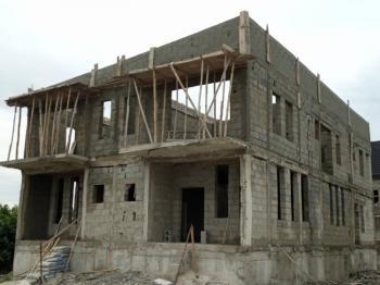 5 Bedroom Semi Detachted Carcass, Amen Estate, Ibeju Lekki, Lagos, Semi-detached Duplex for Sale