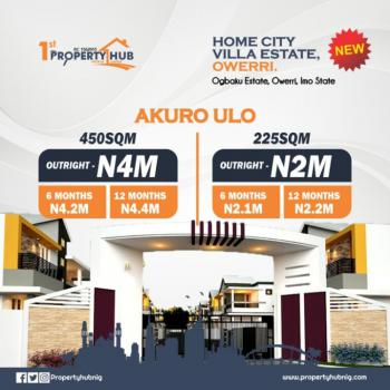 Land, Facing Express in Home City Estate, Ogbaku, Mbaitoli, Imo, Mixed-use Land for Sale