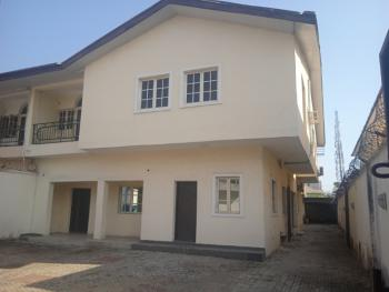 Well Maintained 3 Bedroom Semi Detached House with Bq, Off Providence Street, Lekki Phase 1, Lekki, Lagos, Semi-detached Duplex for Rent