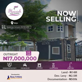 Governors Consent Land , Flourish Gate Garden, Abijo Lagos, Flourish Gate Garden., Abijo, Lekki, Lagos, Mixed-use Land for Sale