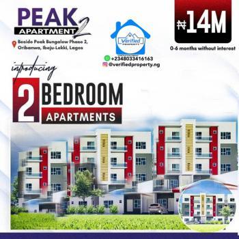 Cozy 2 Bedroom Apartment in a Serene Environment, Eputu, Awoyaya, Ibeju Lekki, Lagos, Block of Flats for Sale