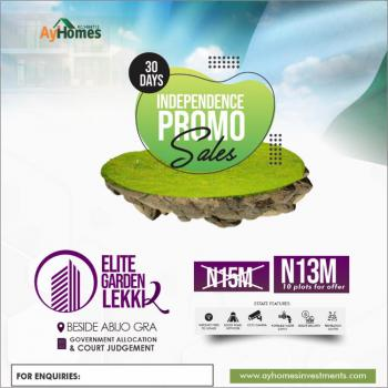 Get a Prefect Dry Land at Discount Rate, Abijo Gra, Lagos, Abijo, Lekki, Lagos, Mixed-use Land for Sale