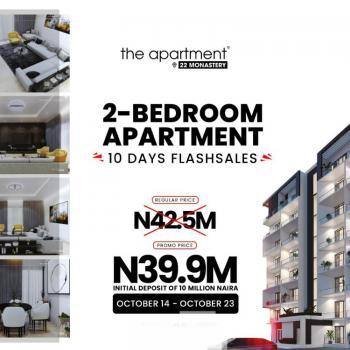 2 Bedroom Luxury Apartments, The Apartment Estate Behind Novera Mall Sangotedo Ajah, Lekki, Lagos, Flat / Apartment for Sale