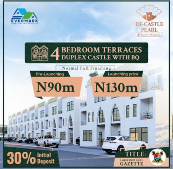 Luxury 4  Terrace Duplex with Bq in Prime Location, De Castle Pearl  Estate, Gra Phase 1, Magodo, Lagos, Terraced Duplex for Sale