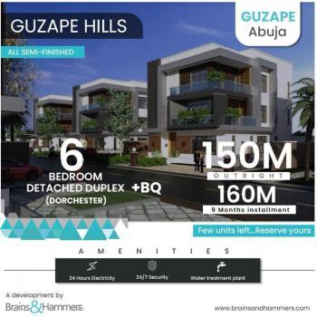 6 Bedroom Detached Duplex By Brains & Hammers, Guzape District, Abuja, Detached Duplex for Sale