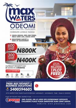 Land in Max Water, Max Waters Estate ,, Ode Omi, Ibeju Lekki, Lagos, Mixed-use Land for Sale