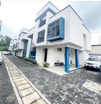 4bedroom Terrace Duplex with Bq, Swimming Pool, in a Well Secured Mini Court, Ikoyi, Lagos, Terraced Duplex for Rent