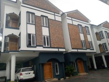 4 Bedroom Terrace Duplex with Swimming Pool N Bq at a Secured Place, Lekki Phase One, Right, Lekki, Lagos, Terraced Duplex for Rent