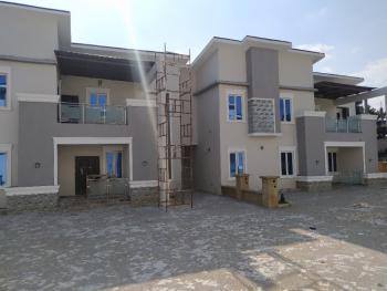 5 Bedroom Terrace Duplex with Bq, Wuye, Abuja, Terraced Duplex for Rent