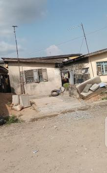 Dry Half Plot of Land with Demoloshable Property, Sawmail Newgarage, Ifako, Gbagada, Lagos, Residential Land for Sale