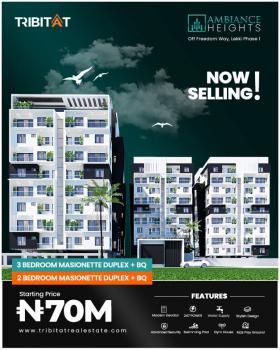 Off Plan 3 Bedroom Maisonette Duplex with Bq, Off Freedom Way, Lekki Phase 1, Lekki Phase 1, Lekki, Lagos, Terraced Duplex for Sale
