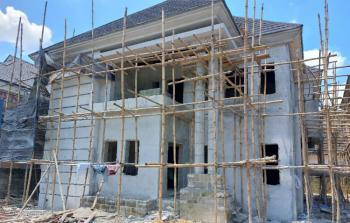 Durably Built 4 Bedroom Detached Carcass Duplex, Pearls Garden Estate, Shell Co-operative, Port Harcourt, Rivers, Detached Duplex for Sale