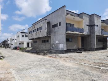 Brand New 4 Bedroom Semidetached Plus 1 Room Bq, Monastry Road / Diamond Estate / Novare Mall Shoprite, Sangotedo, Ajah, Lagos, Semi-detached Duplex for Rent