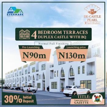 Executive 4 Bedroom Terraces Castle Duplex + Bq, De Castle Pearl, Magodo, Gra Phase 1, Magodo, Lagos, Terraced Duplex for Sale