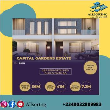 Luxury 2 Bedroom Semi -detached with Bq(off-plan), The Capital Garden, Eleko, Ibeju Lekki, Lagos, Semi-detached Duplex for Sale