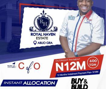 Estate Land with People Already Building, Abijo Gra Lekki Ajah Beside Chevron Cooperative Estate, Abijo, Lekki, Lagos, Residential Land for Sale
