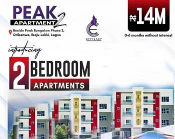2 Bedroom Apartments in an Estate with 6 Months Payment Plan, Awoyaya Lekki Ajah Few Minutes From Oribanwa Junction, Lekki Phase 2, Lekki, Lagos, Block of Flats for Sale